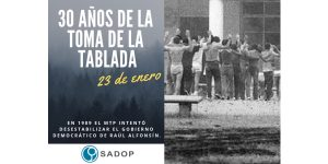 Lee más sobre el artículo 30 años del copamiento de La Tablada